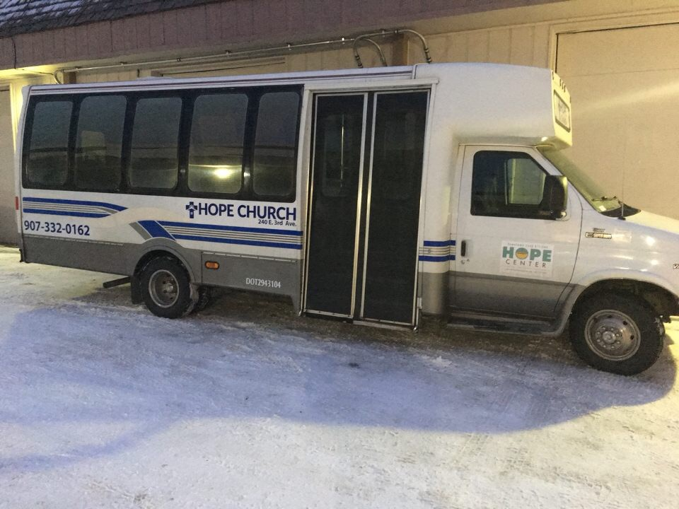 HopeMobile with new lettering