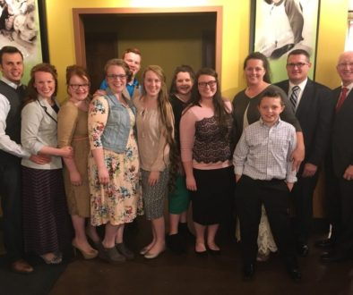 Pastor Douglas Meadow and family